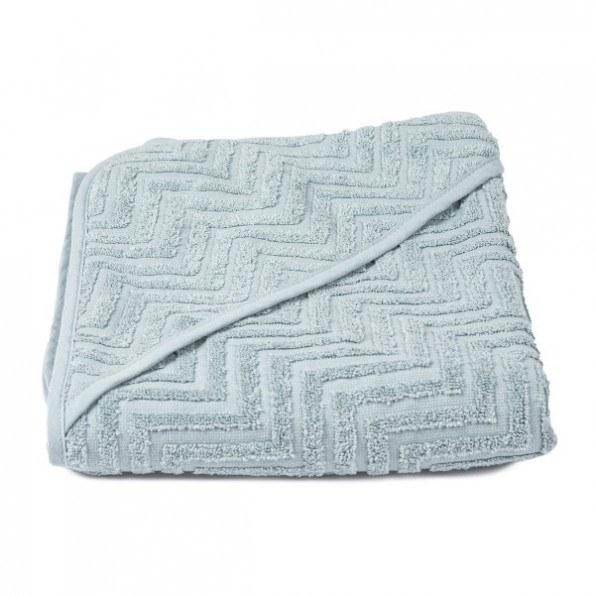 Filibabba badehåndklæde - Zigzag Petrol Green
