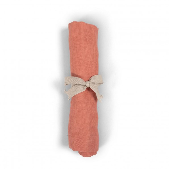Filibabba muslin stofble - coral