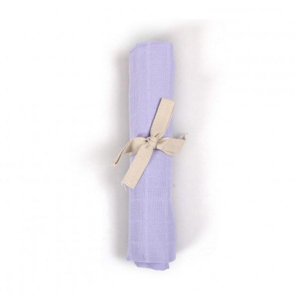 Filibabba muslin stofble - fresh violet