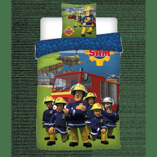 Brandmand Sam Juniorsengetøj 024 - 100x140 cm + 40x45 cm