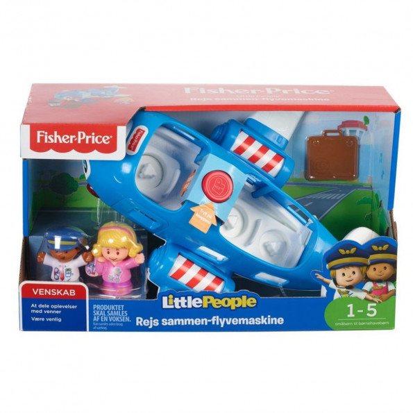 Fisher Price Little People stor flyvemaskine