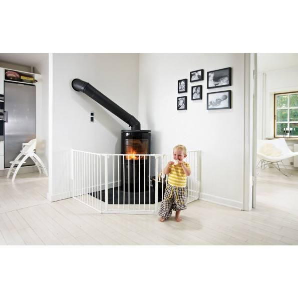 Baby Dan FLEX L sikkerhedsgitter - hvid