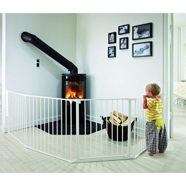 Baby Dan FLEX XL Sikkerhedsgitter - Hvid