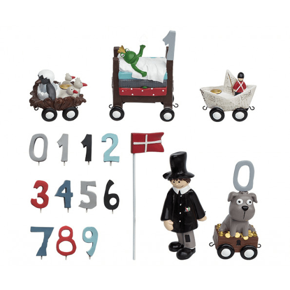 Kids by Friis Fødselsdagstog, H.C. Andersen - Dreng