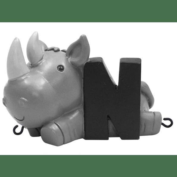 Kids By Friis N Bogstav - Næsehorn Navnetog