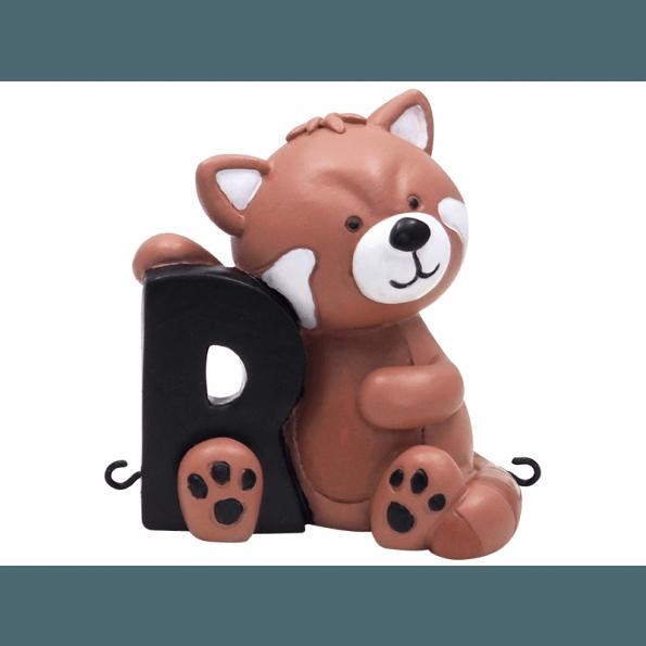 Kids by Friis R Bogstav - Rød Panda Navnetog