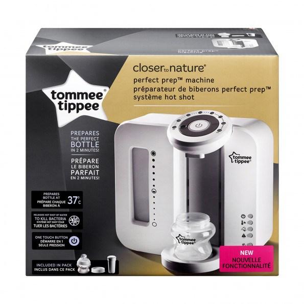 Tommee Tippee Perfect Prep flaskevarmer - hvid