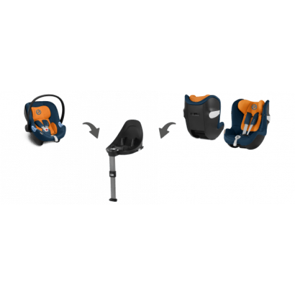 Cybex Sirona M2 i-Size autostol (2019) inkl. Base M - Manhattan Grey