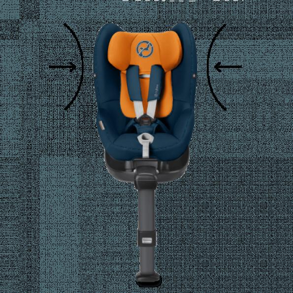 Cybex Sirona M2 i-Size autostol inkl. Base M - Indigo Blue