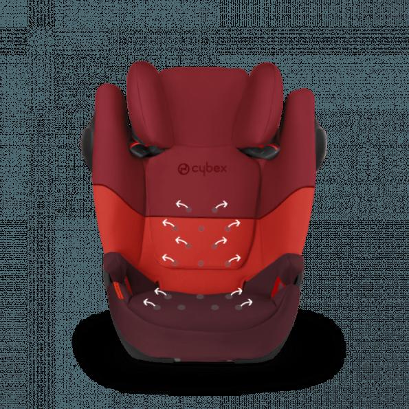 Cybex Solution M-fix SL - Ferrari Racing Red