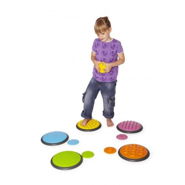 Gonge Tactile discs sæt 1- Trædesten