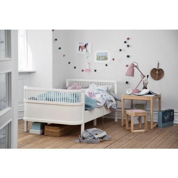 Sebra sengen, Junior & Grow, Hvid