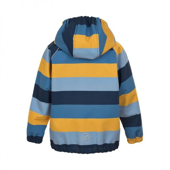 Minymo softshell jakke - faded denim