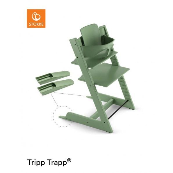 Tripp Trapp højstol + babysæt - moss green