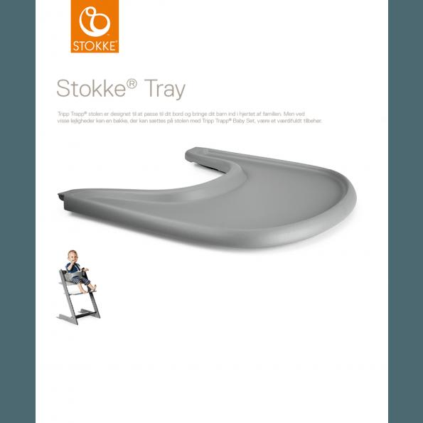 Tripp Trapp Tray - Storm Grey Tilbehør til højstol