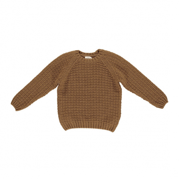 GRO Isac trøje i uld - Nutmeg