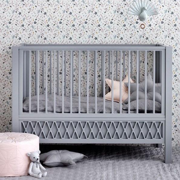 Cam Cam Harlequin babyseng - grey