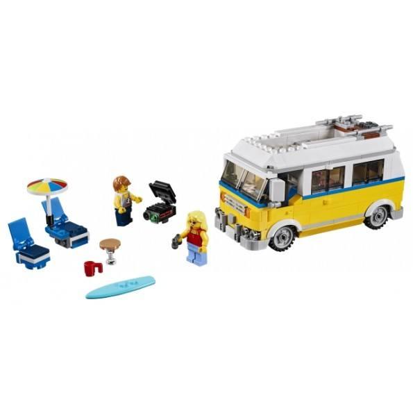 LEGO Creator - Solskinssurfervogn - 31079