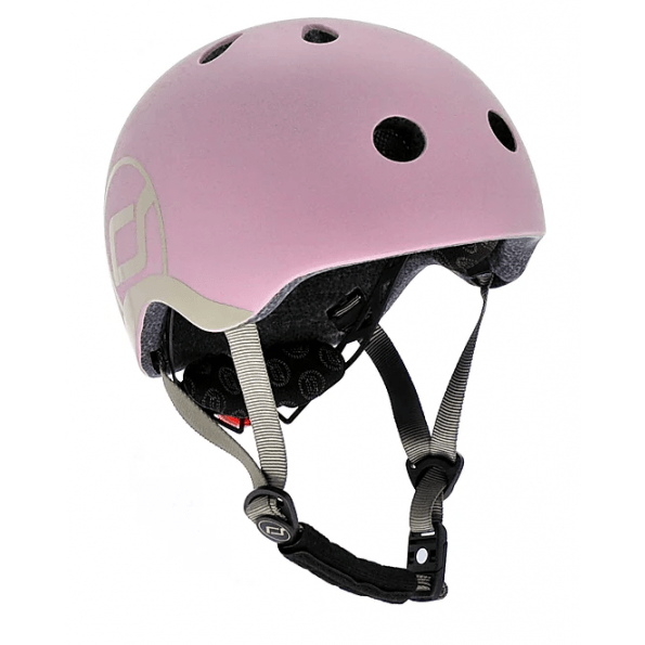Scoot and Ride XXS-S hjelm - rose