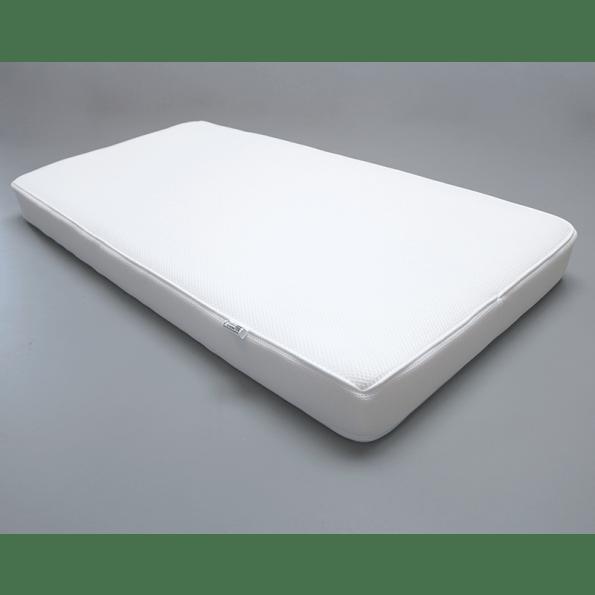 Tiny Republic Sofie tremmeseng hvid + Heybaic 3D lux air madras