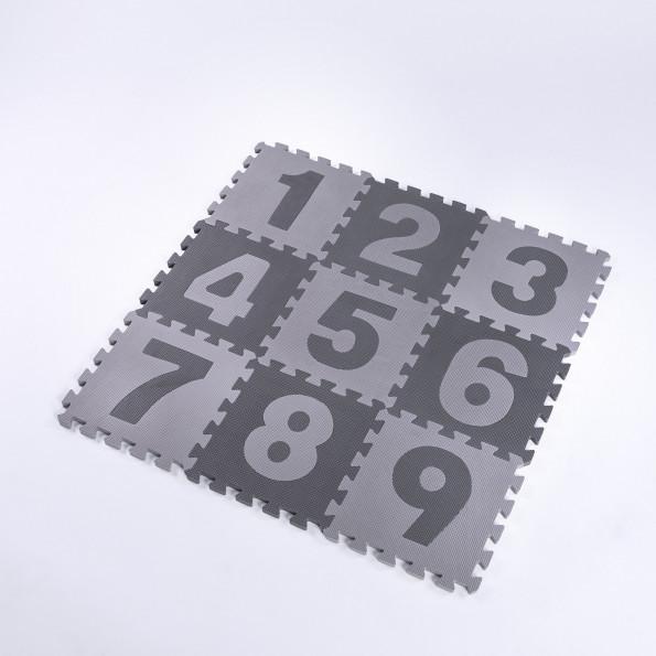 Heybasic legegulv - grå/lysegrå