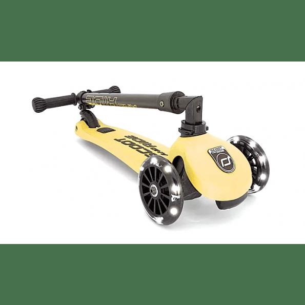 Scoot and Ride Highwaykick 3 Led løbehjul - lemon