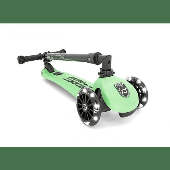 Scoot and Ride Highwaykick 3 Led løbehjul - kiwi