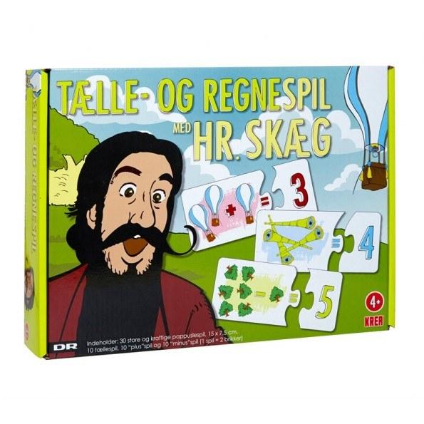 DR Hr. Skæg Tælle- og Regnespil - 30 brikker