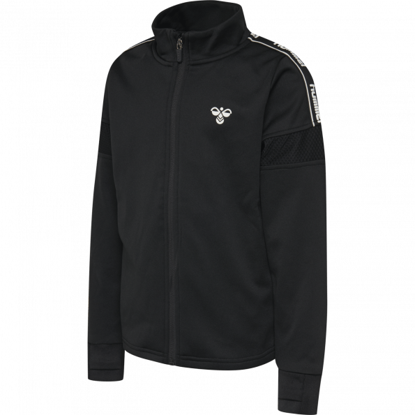 Hummel ASK ZIP jakke – Black
