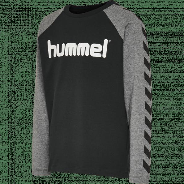 Hummel BOYS L/S t-shirt – Black