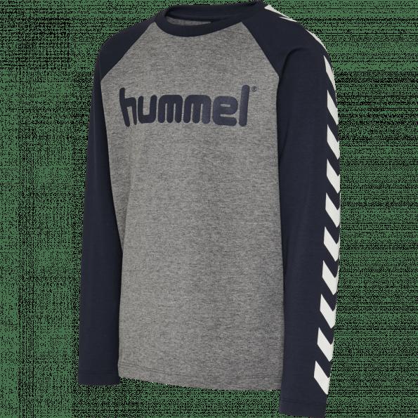 Hummel BOYS L/S t-shirt – Black Iris