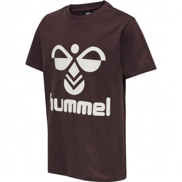 Hummel hmlTres t-shirt - Fudge