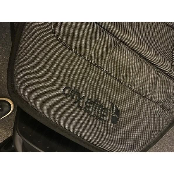 Baby Jogger City Elite Single - Charcoal Denim Klapvogn