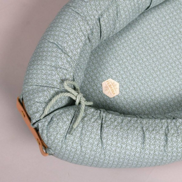 Filibabba -  Leafed Dark Mint Babynest