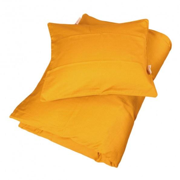 Filibabba Juniorsengetøj Sateen - Golden Mustard