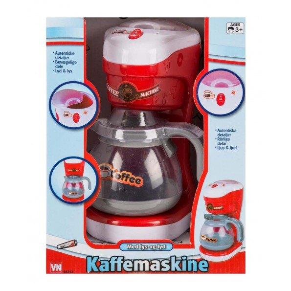3-2-6 Kaffemaskine m lyd og vand