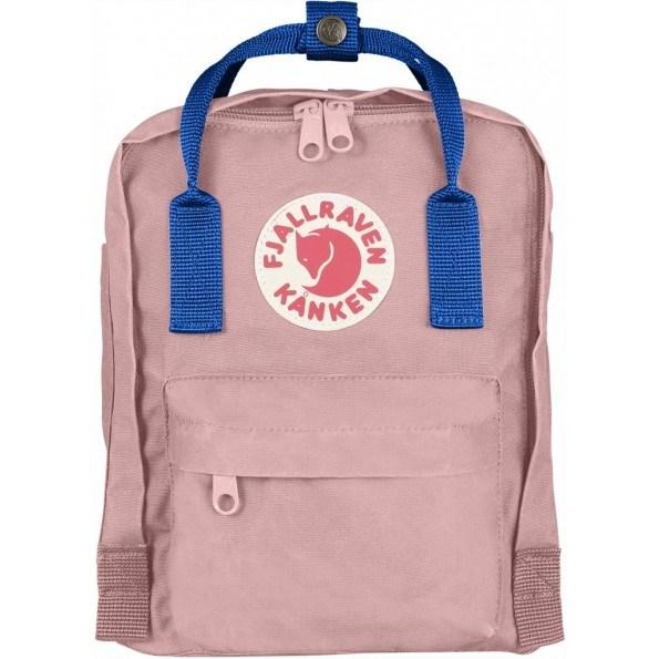 Fjällräven Mini Kånken rygsæk - pink/air blue