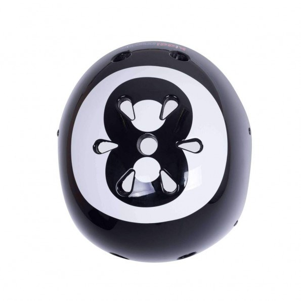 Kiddimoto cykelhjelm small - 8 ball