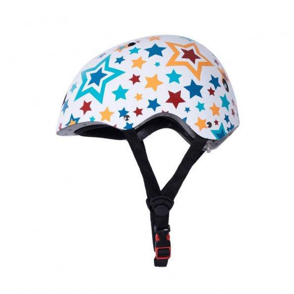 Kiddimoto cykelhjelm str. M - stjerner