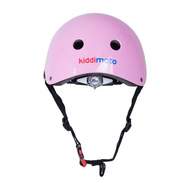 Kiddimoto cykelhjelm str. S - pink briller
