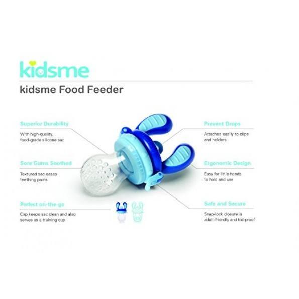 Kidsme foodfeder startpak blå/lime