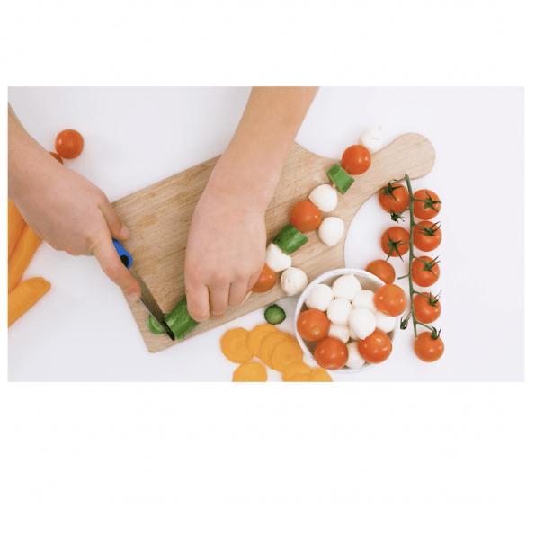 Kinderkitchen Knivsæt til børn, 2 dele - Sort/Orange
