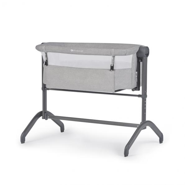 Kinderkraft BEA bedside crib - Grey
