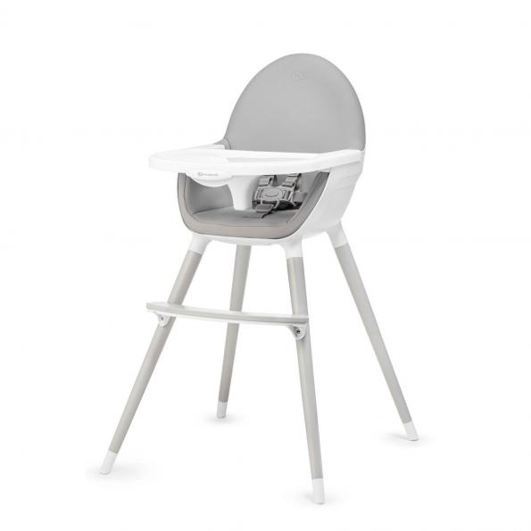 Kinderkraft Fini højstol – grå/grå