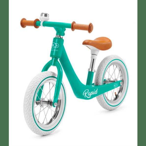 Kinderkraft Rapid balancecykel - Midnight Green
