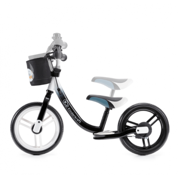 Kinderkraft Space balancecykel - sort