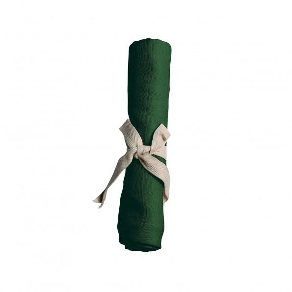 Filibabba muslin stofble - dark green