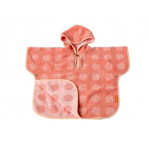 Leander matty badeslag, 60x100 - Coral/Pink