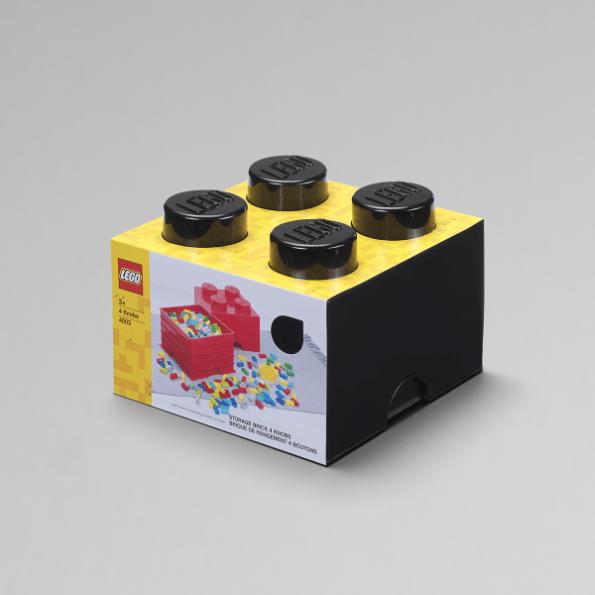 LEGO Opbevaringskasse 4 - Sort