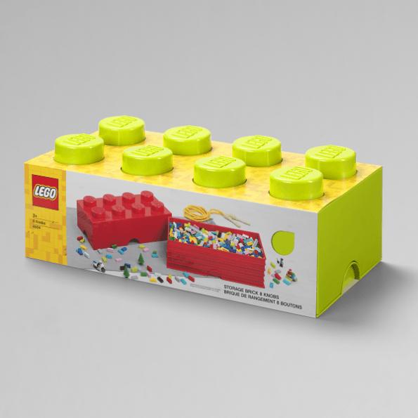 LEGO Opbevaringskasse 8 - Limegrøn